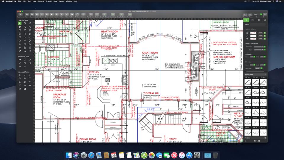 MacDraft Professional Software - 1