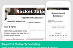 Schedulista screenshot: Add online scheduling directly to the organization's website
