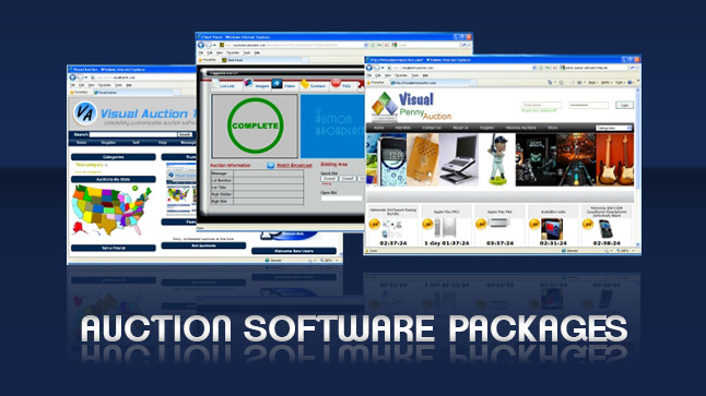 Auction Broadcaster Logiciel - 1