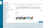 Neigbrs screenshot: The administrator can edit the HOA's description and add photos