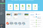 OutboundEngine screenshot: Dashboard