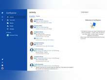 Confluence Software - Use the dashboard to stay on top of all updates within your team and discover more with popular pages that are trending