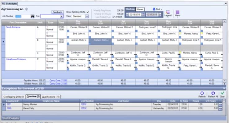 WinTeam workforce scheduling