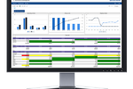 Izenda Business Intelligence screenshot: Users can analyze data in real-time