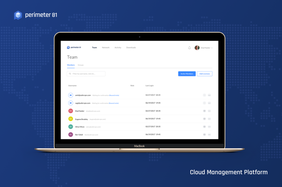 Perimeter 81 Cloud Management Platform