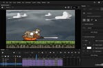 Adobe Animate Screenshot: Adobe Animate add animations
