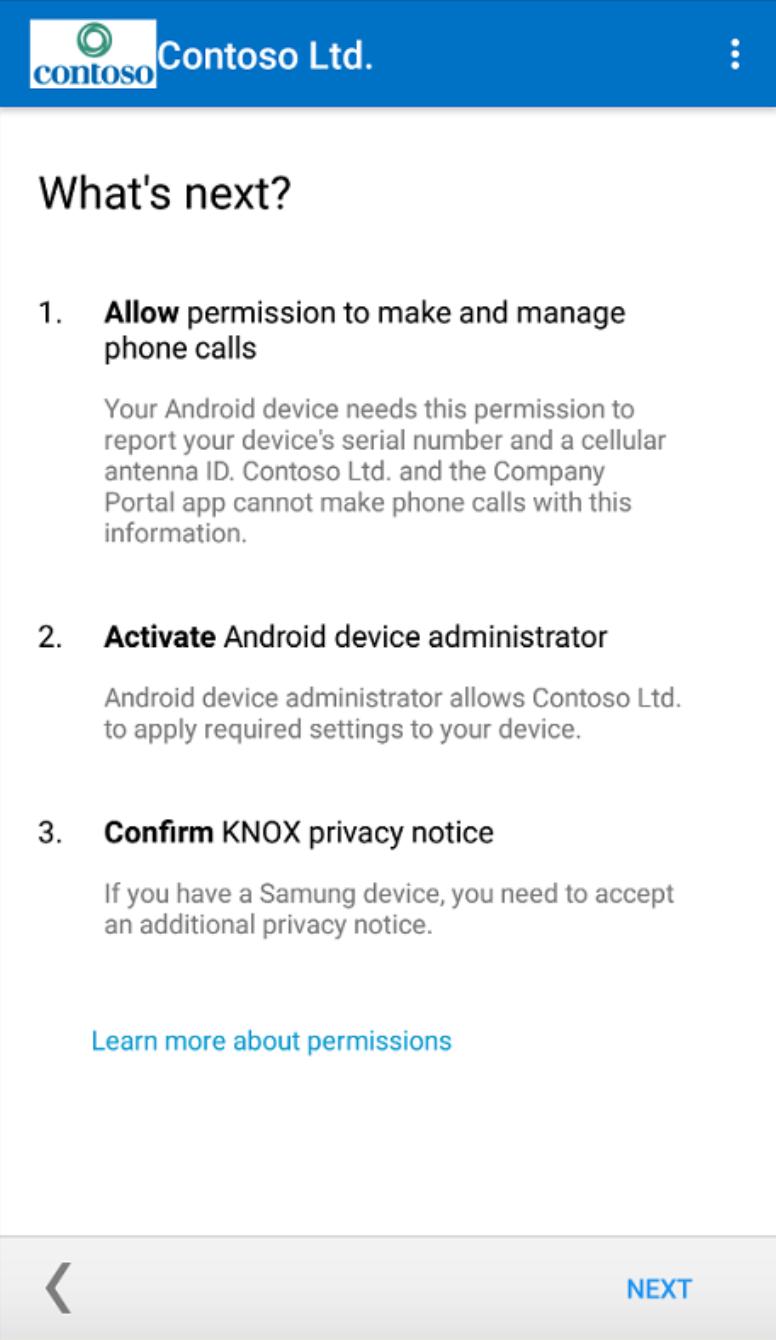 Microsoft Intune permissions