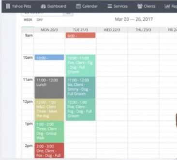 Petbeing appointment schedule