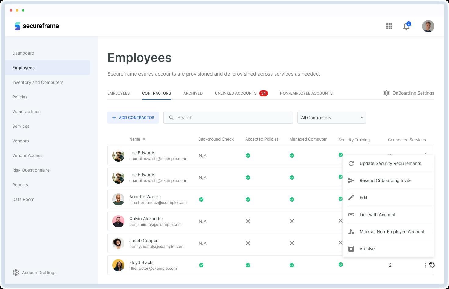 Secureframe employees