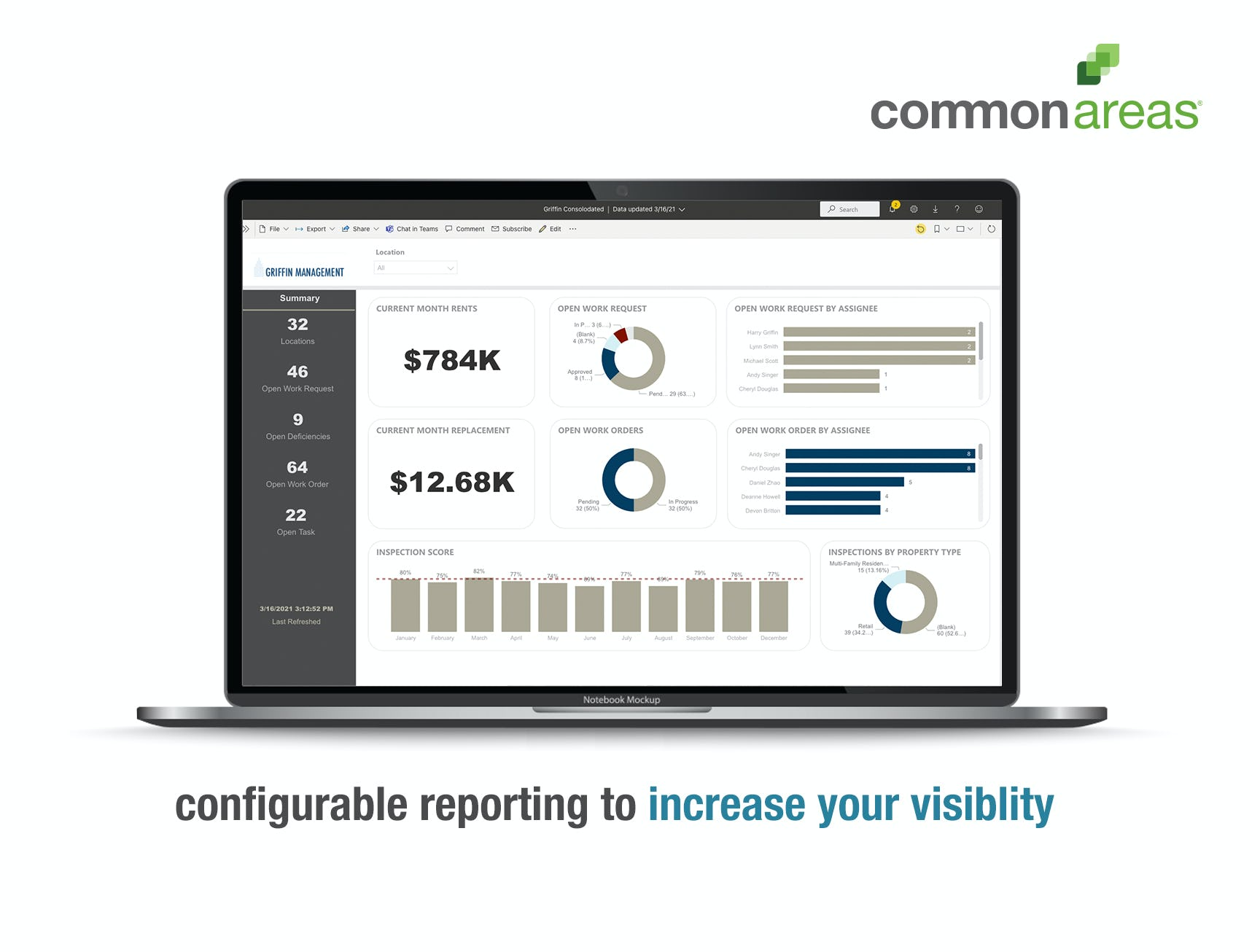 Common Areas Software - Common Areas simplifies and streamlines your property management operations to help you ensure quality standards are achieved, expectations are exceeded, and problems are resolved before they get out of hand.
