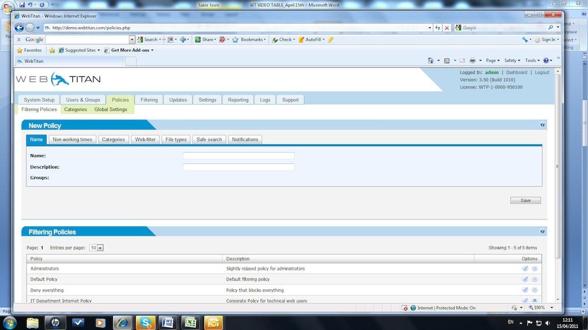 WebTitan Software - 3