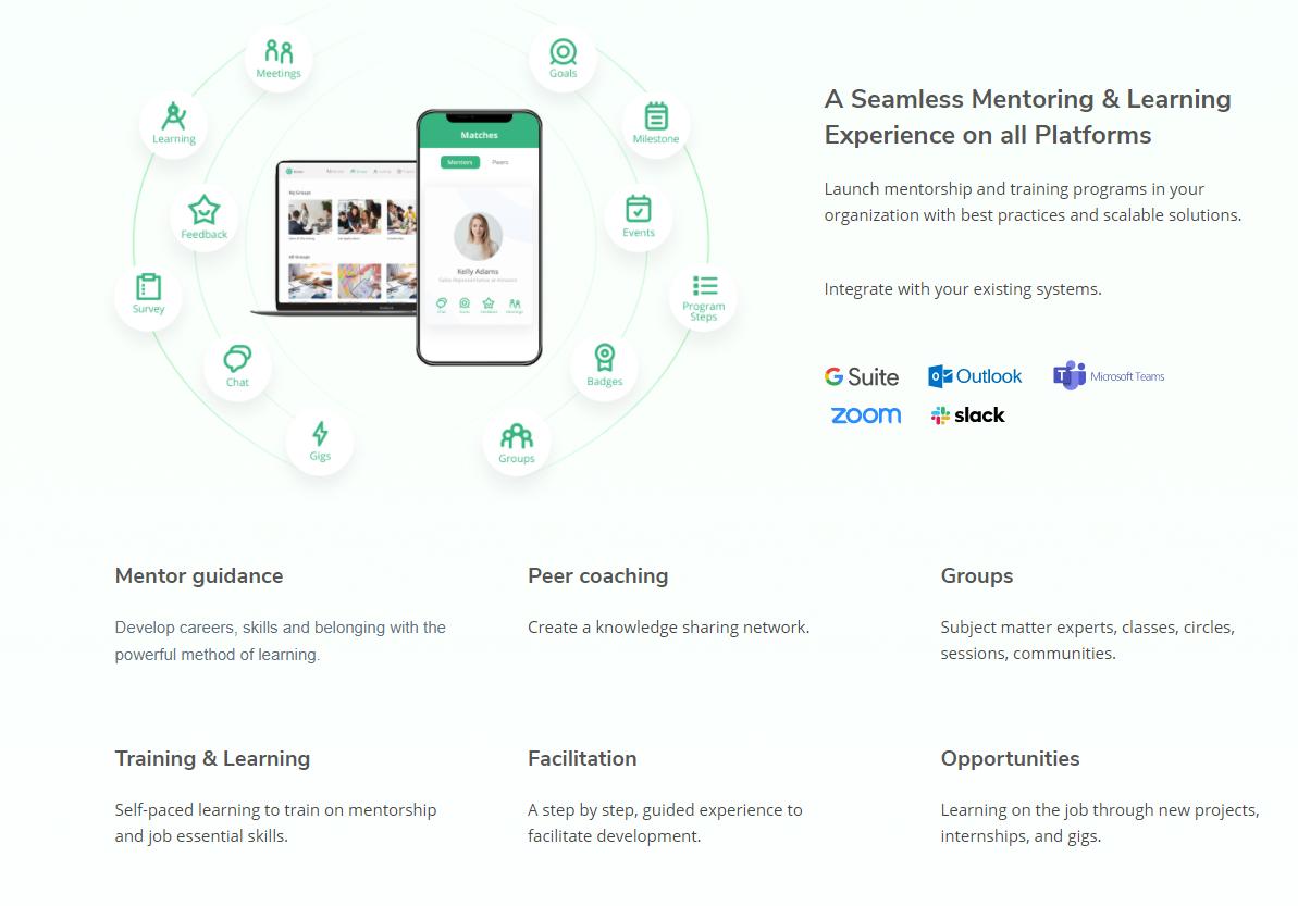 Qooper  screenshot: Mentoring & Learning Platform