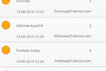 Capture d'écran pour Talisma CRM : Talisma - Mobile app