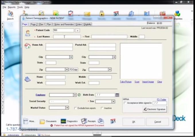 NeoMed EHR Software - Home