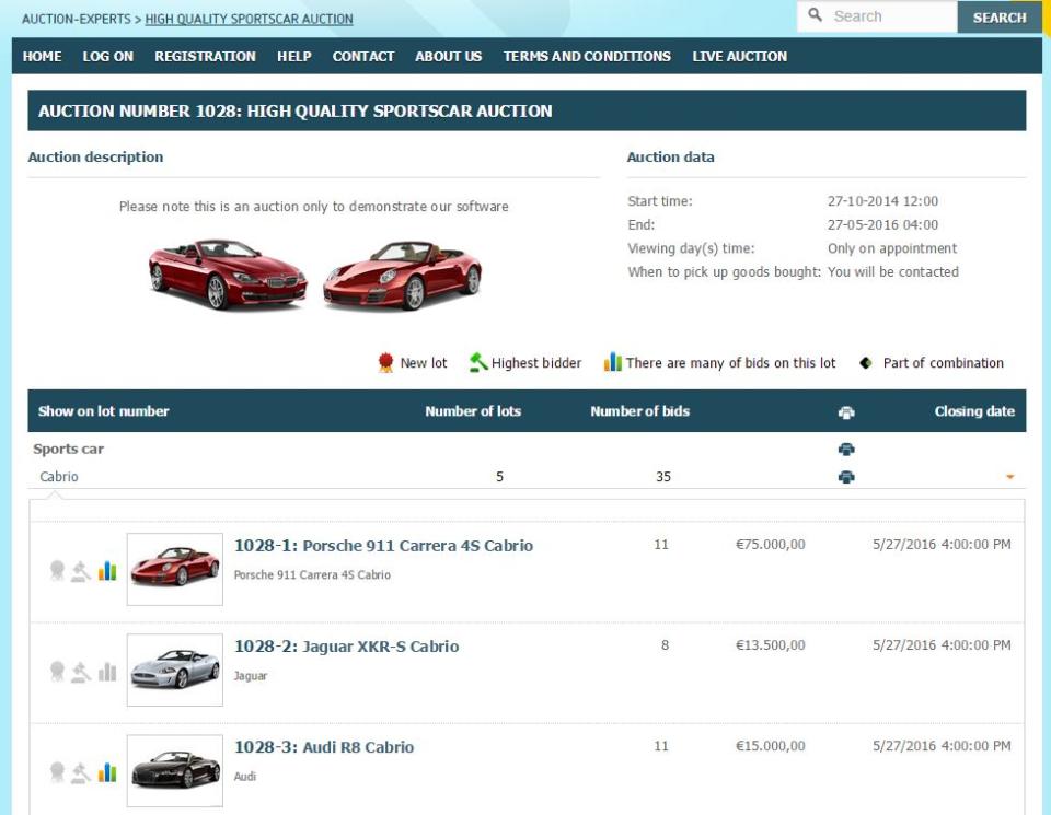Auction-Experts Logiciel - 2