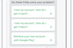 Helpshift Screenshot: Auto-responses aim to gather as much customer data as possible