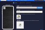 Capture d'écran pour Swing2App : Swing2App app production window