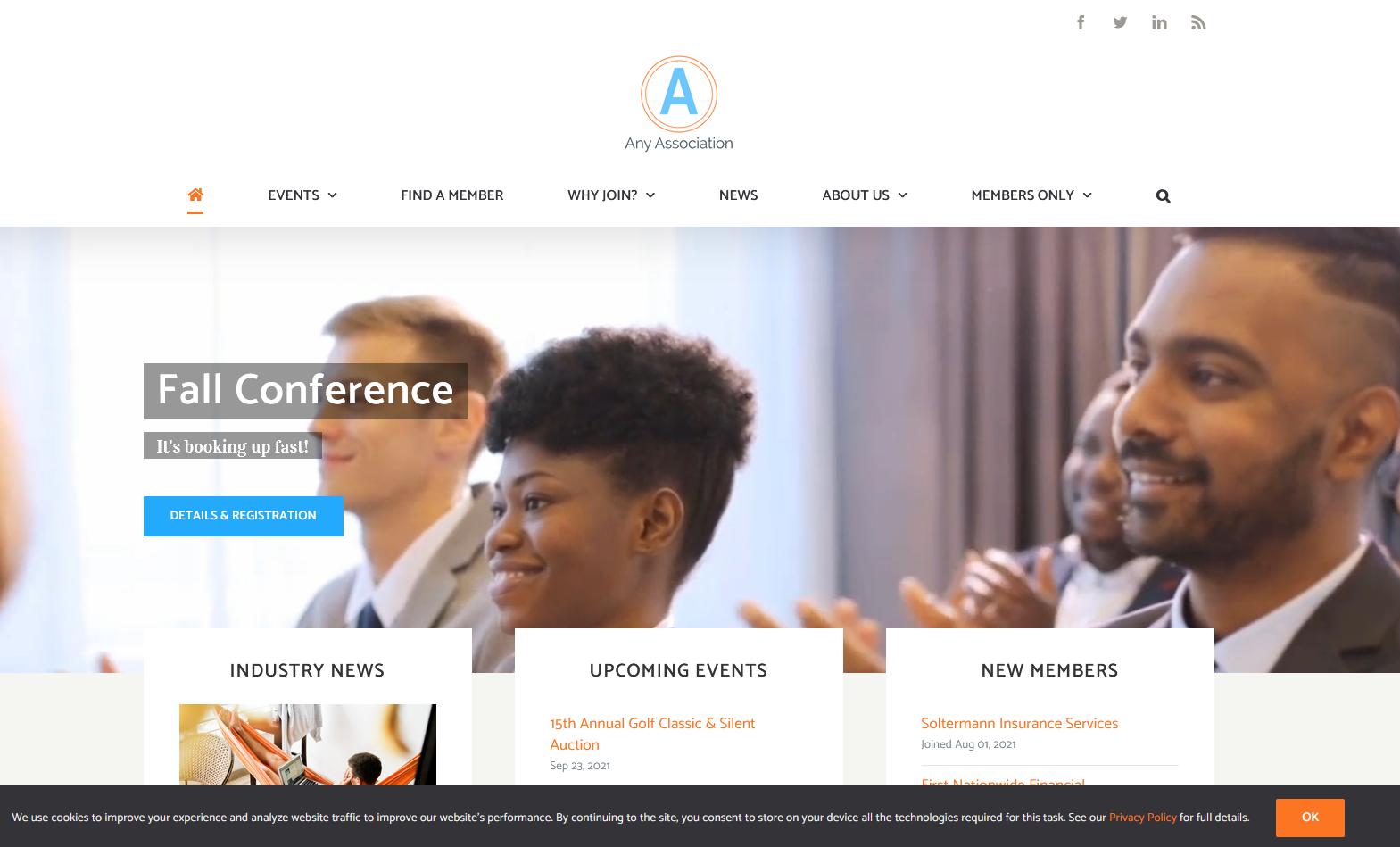 Membee Software - One of Membee's Website Designs
