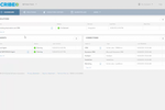 TIBCO Scribe Online screenshot: View status, configuration, and running of any integration