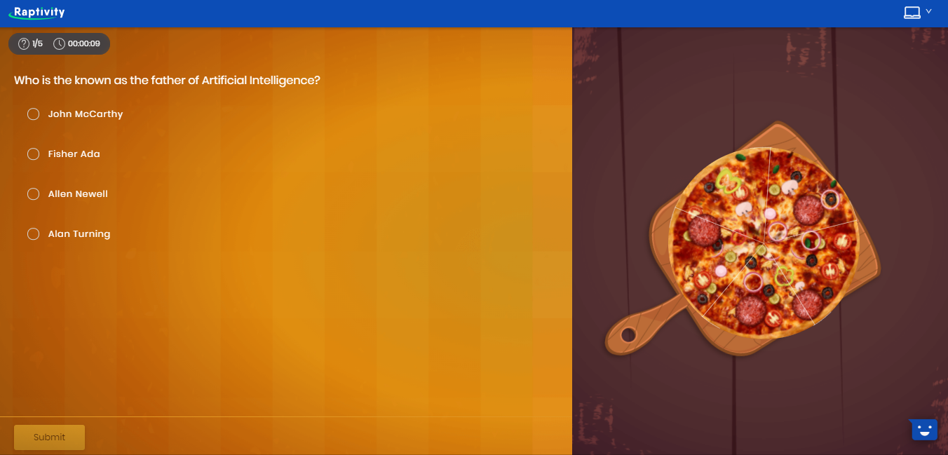 Pizza Game Template