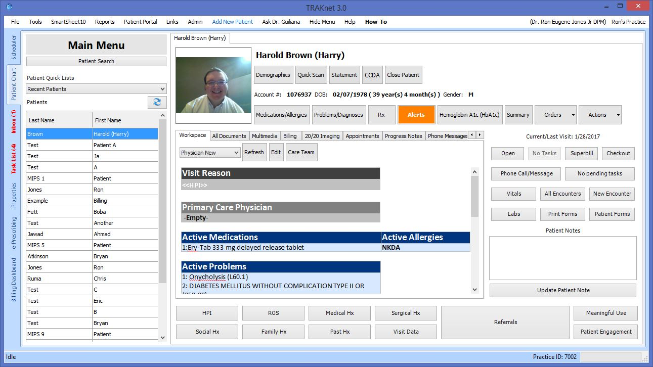 Patient records provide a detailed description of patient's medical records, history and more