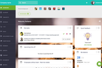 Sage HR Screenshot: Customisable Dashboard