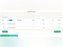 Assignar Software - Payroll management tools allow multiple worker pay rates to be created according to EBA or custom award rules, applied automatically during every pay run