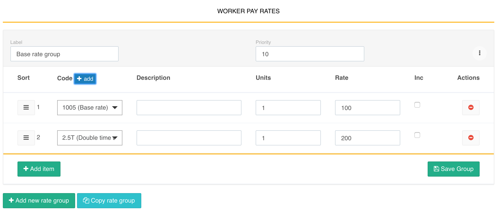 Payroll management tools allow multiple worker pay rates to be created according to EBA or custom award rules, applied automatically during every pay run