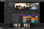 Capture d'écran pour Evercast : Video conference while streaming the Avid interface. Share the timeline or view the content in full screen. Edit in real time with your team -- plus record, draw, and take time-stamped notes for seamless collaboration.