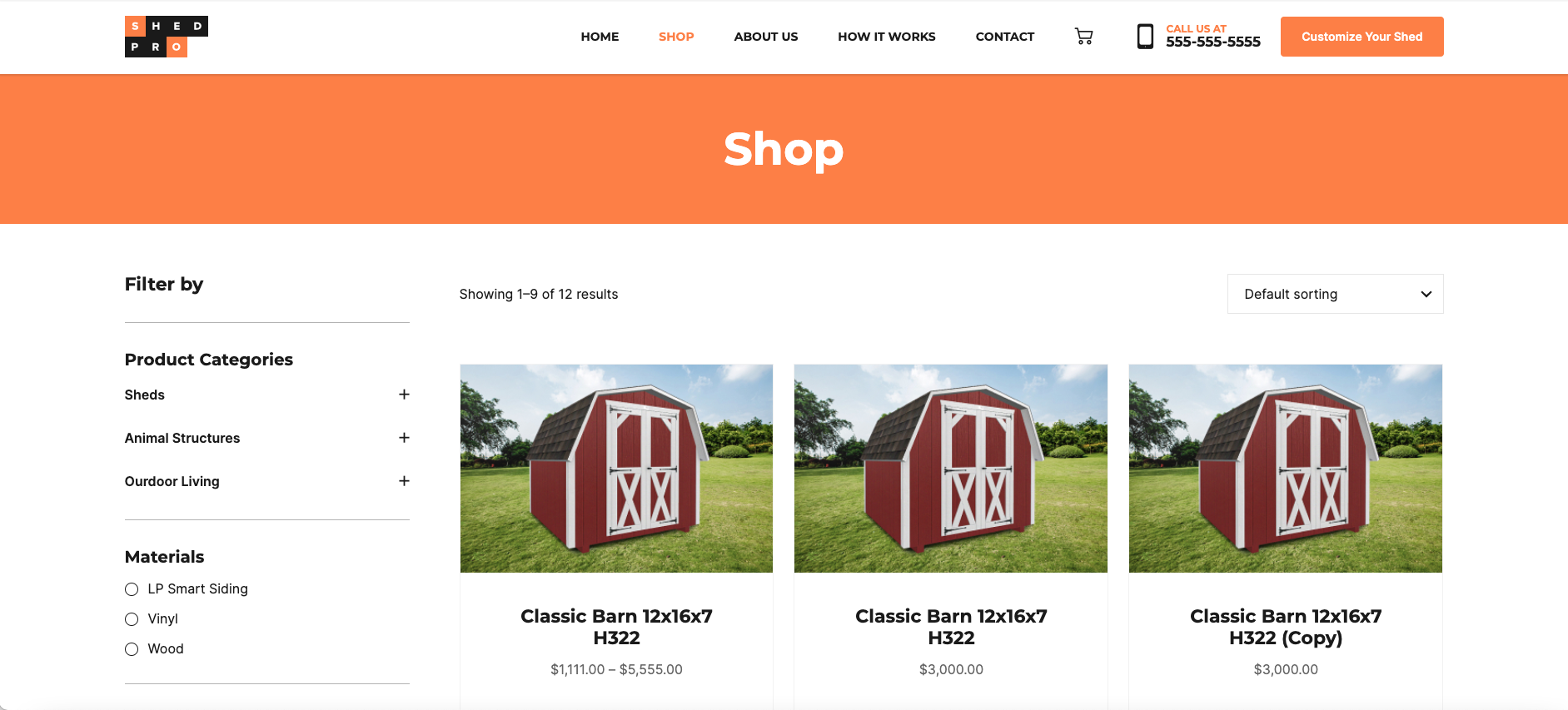 Shop ShedPro sales