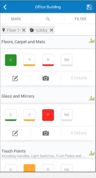 CleanTelligent inspection details