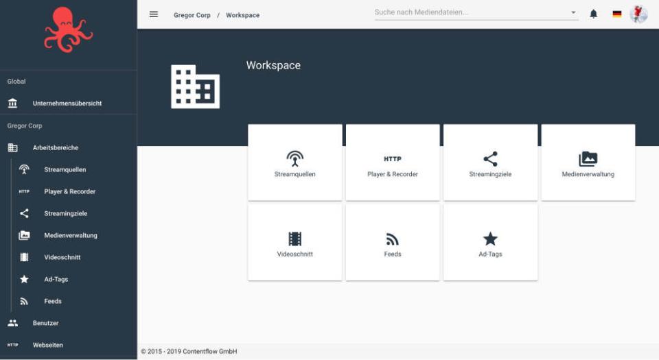 Contentflow Software - Contentflow dashboard