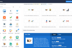 Zoho Flow screenshot: Browse a collection of Flow templates to explore ideas for the business