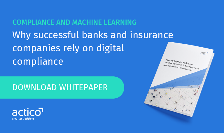 The number of Suspicious Activity Reports (SARs) is increasing year on year. Banks, insurance companies and regulators alike are struggling to monitor the flow of money. Machine Learning can provide a clever solution by combining human knowledge and data