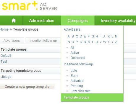 Smart AdServer administration
