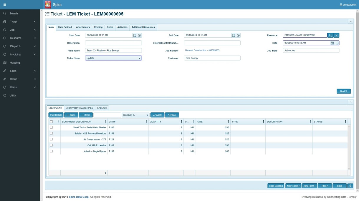 Spira ORP screenshot: Spira Web