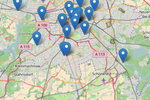 Appointman screenshot: Class locations