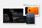 Ceros Screenshot: Pull assets from around the web and embed them into your Ceros content.