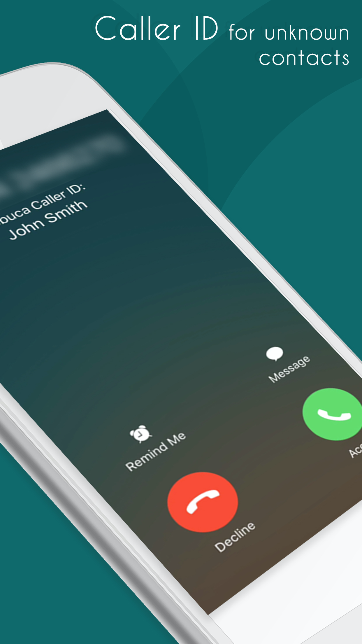 Pobuca Connect - Caller ID for unknown contacts