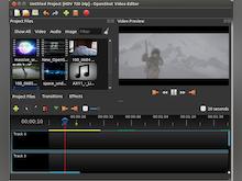 OpenShot Video Editor Software - OpenShot Video Editor tracks