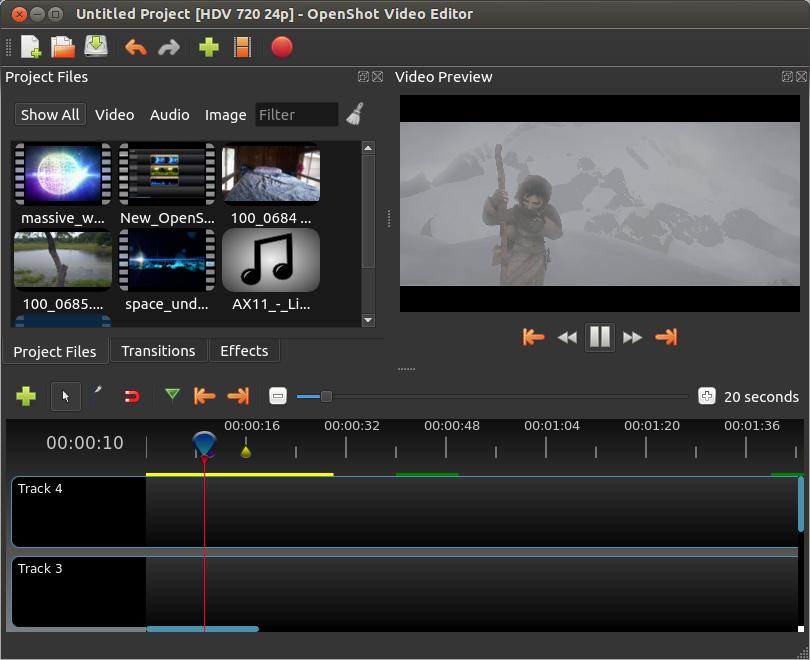 OpenShot Video Editor Software - 2
