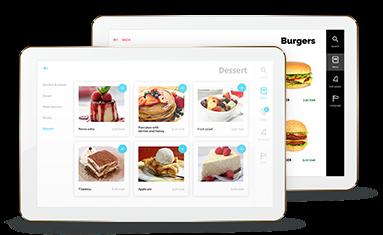 E-menu self-ordering module