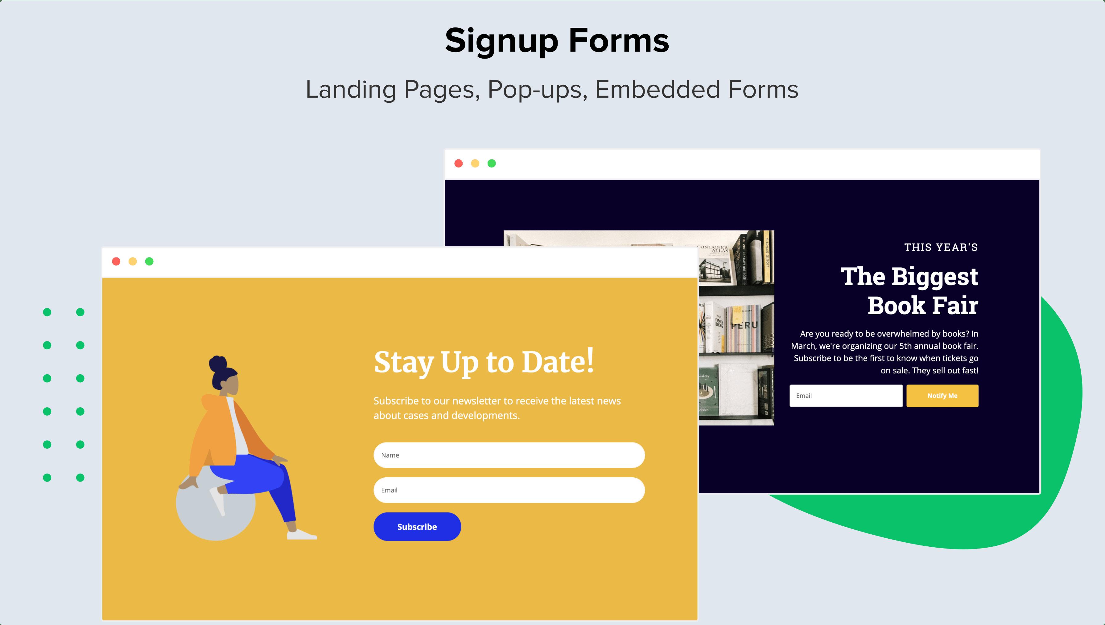 MailerLite Software - Signup Forms