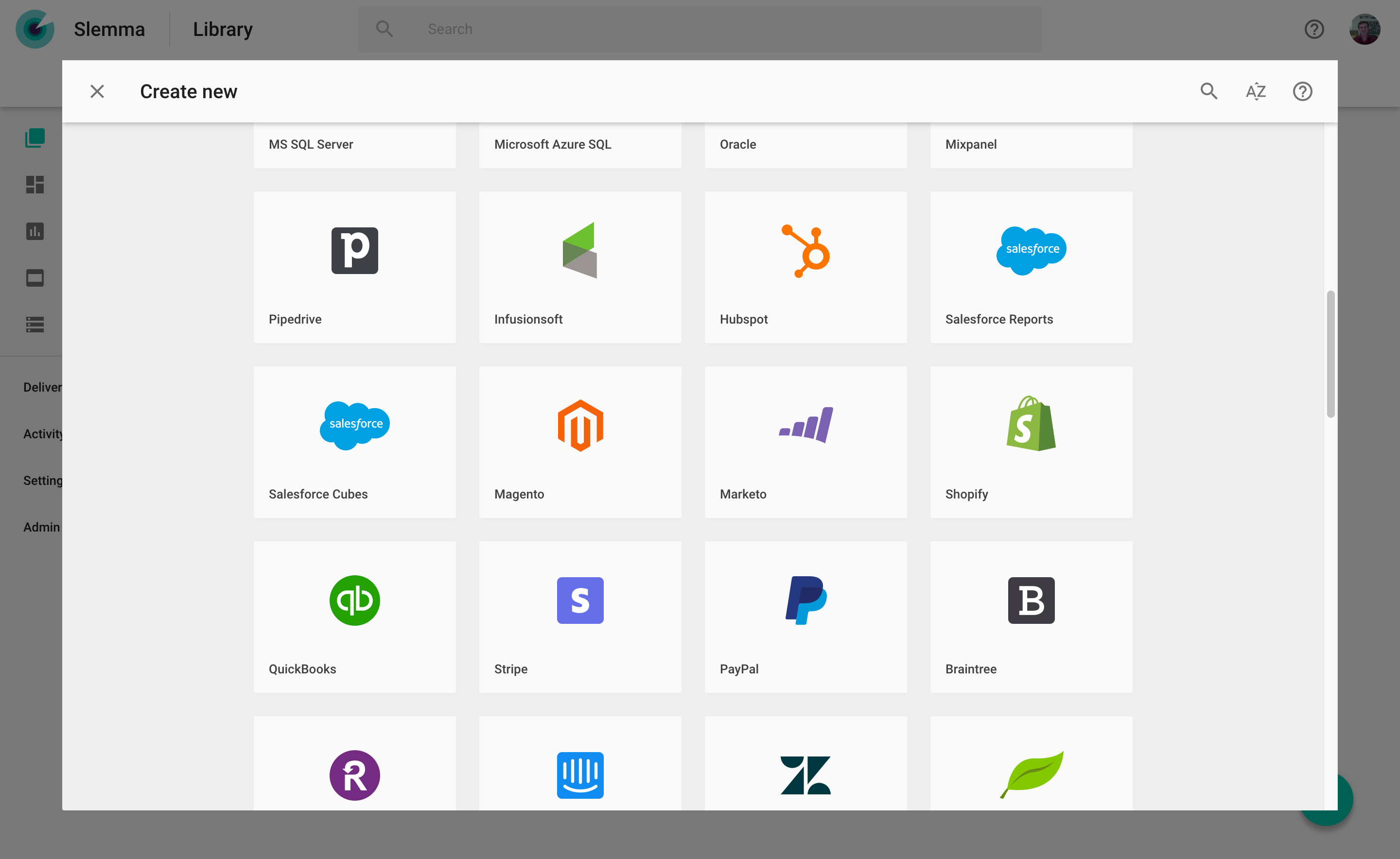 Integrate with the cloud storage, data warehouse and cloud service solutions you already use.