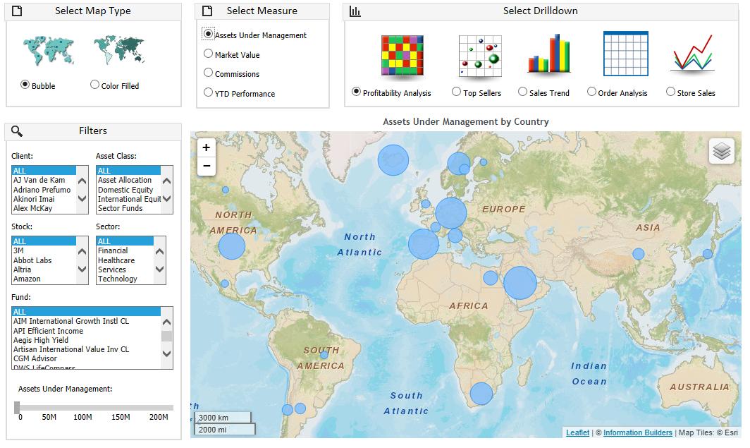ibi Software - Assets map