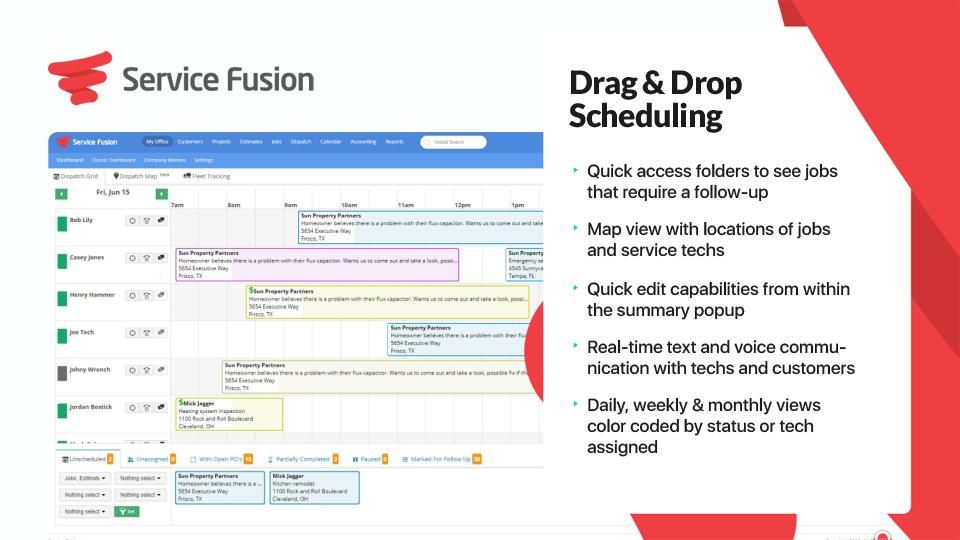 Service Fusion Software - 2