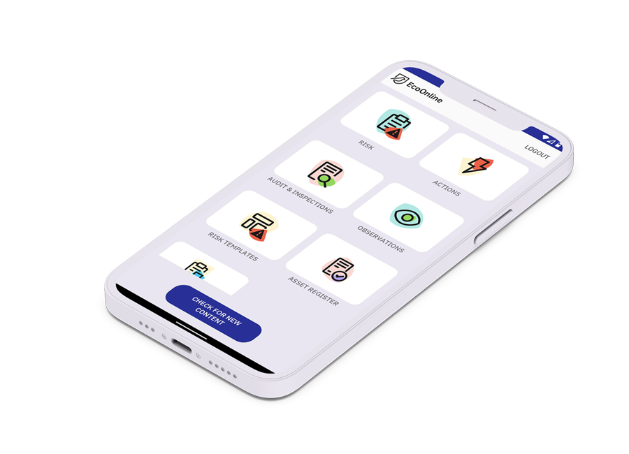 EcoOnline Platform Software - EcoOnline's frictionless mobile interface helps to ensure that you can achieve the universal levels of adoption that will result in easily accessible, key business intelligence whenever and wherever you require it.