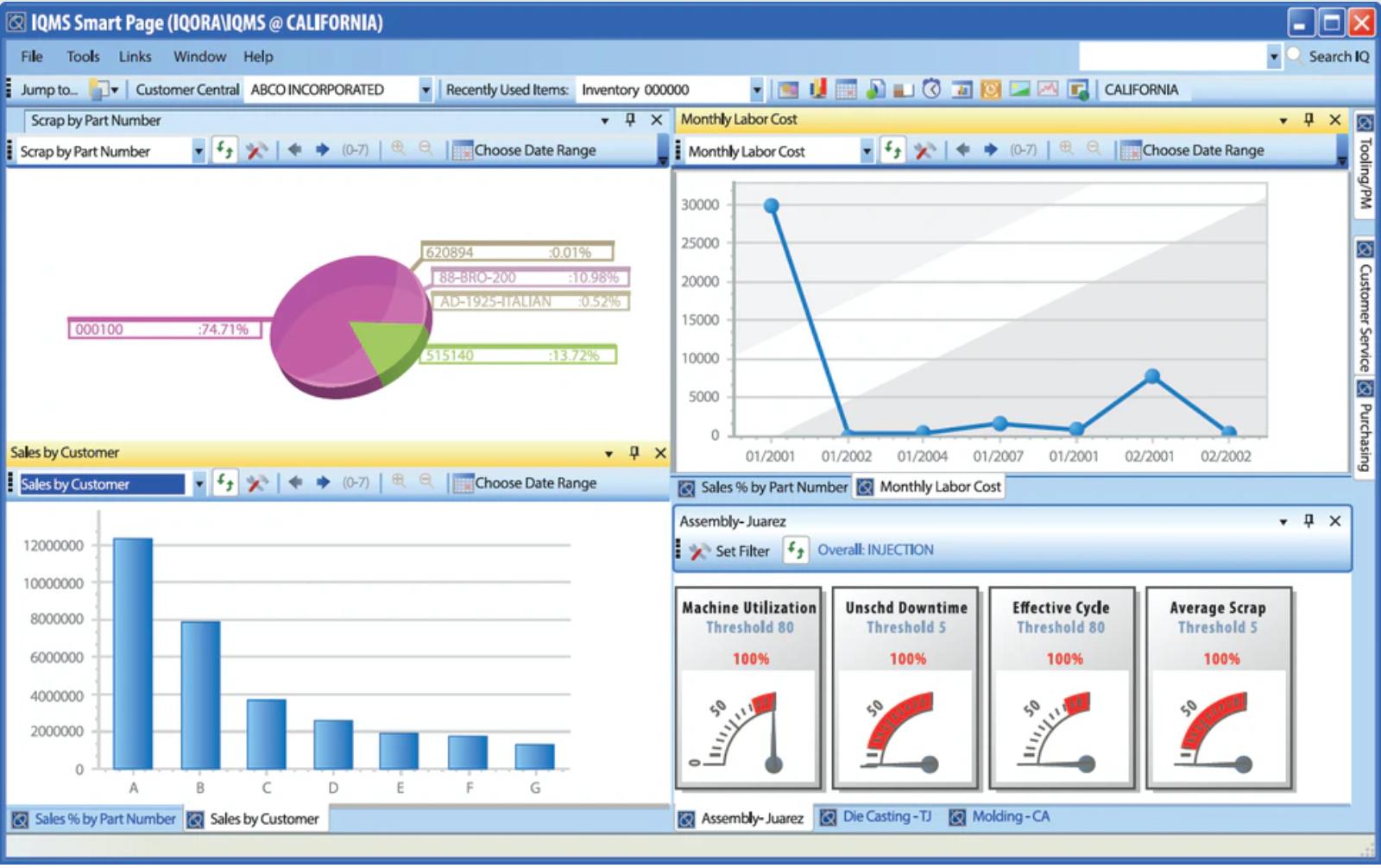 DELMIAworks Software - IQMS Smart Page