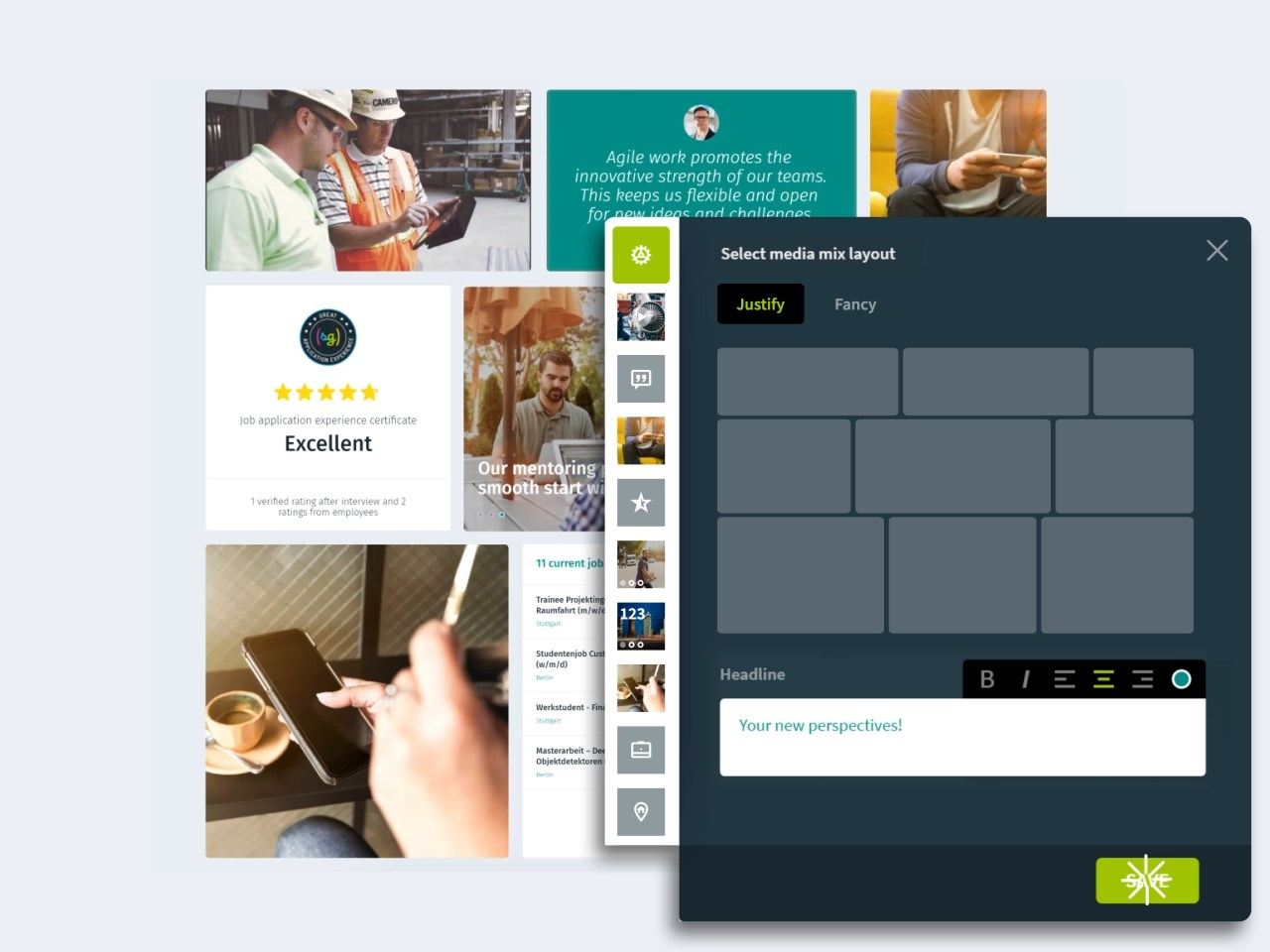 softgarden design career pages