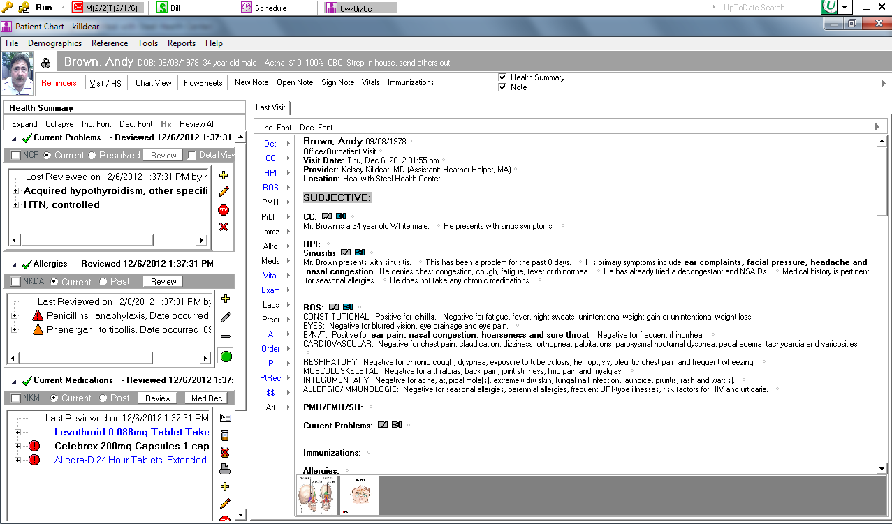 e-MDs Software - 1